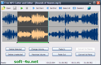 Аудио редактор для MP3: Free MP3 Cutter and Editor